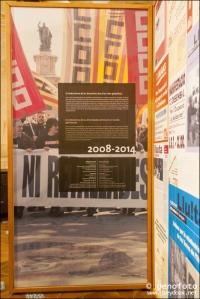 Plafón Exposición. Fotografia: Genoveva Seydoux.