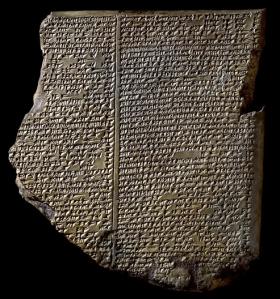 Tauleta del Diluvi del Poema èpic de Gilgamesh