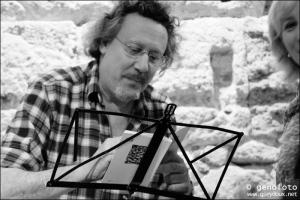 Juan González Soto. Autor del llibre. Fotografia: Genoveva Seydoux