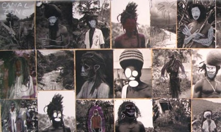 Patrick Cariou photographs of Jamaican rastafarians altered and exhibited without consent by Richard Prince. Photograph: Canal Zone through The Guardian