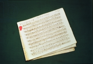Original score of The Messiah by Handel, George Frederick (1685-1759); © Coram in the care of the Foundling Museum, London; German, out of copyright