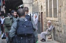 Soldats israelians a Jerusalem Est
