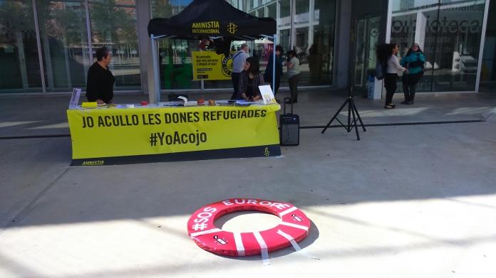 Campanya #yoAcojo d'Amnistia Internacional