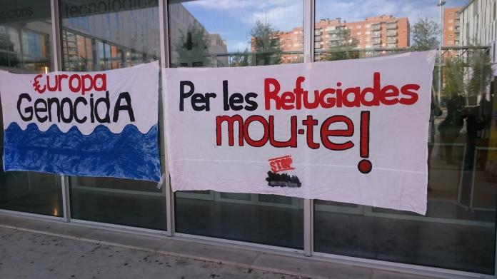 Pancartes de STOP Mare Mortum