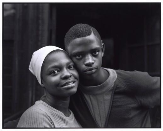 USA. New York. New York City. 1966. East 100 St. ©Bruce Davidson/Magnum Photos