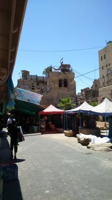Col·legi palestí ocupat i reconvertit en centre militar