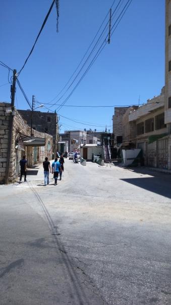 check-point de l'exèrcit israelià per accedir a cases palestines
