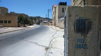 zona ocupada per colons i d'accés restringit