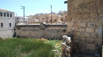 Antigues piscines de Saladí, abandonades (zona ocupada)