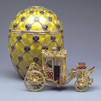 Imatge 3: Coronation Egg, 1897 . Cortesia de la Forbes Collection
