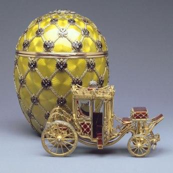 Imatge 3: Coronation Egg, 1897 . Cortesia de la Forbes Collection
