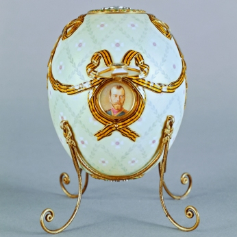 Imatge 5: Order of St George Egg, 1916. Cortesia de la Forbes Collection.