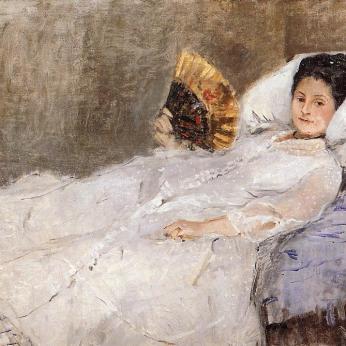 Madame Hubbard de Berthe Morisot