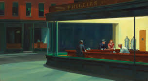 Nightwaks, Edward Hopper