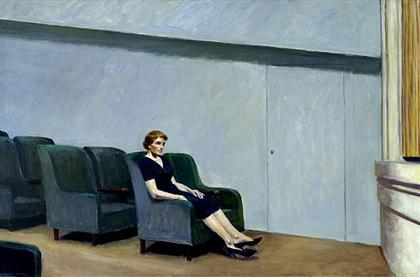 Entreactos de Edward Hopper