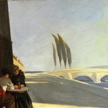 Le bistro, Edward Hopper